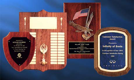 personalize award plaque